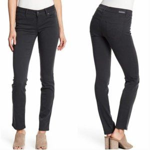 Level 99 Charcoal Gray Lily Skinny Straight Jeans